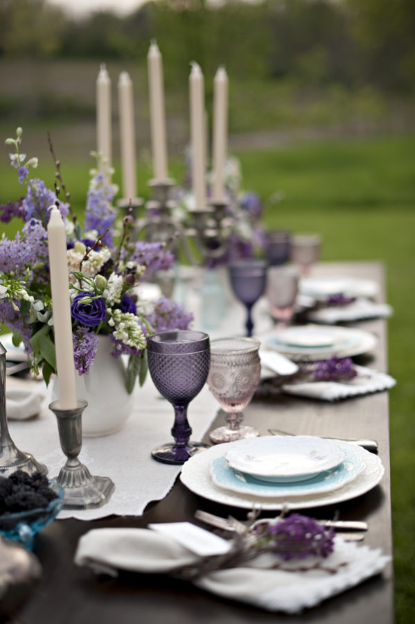 Blackberry inspired violet wedding 14