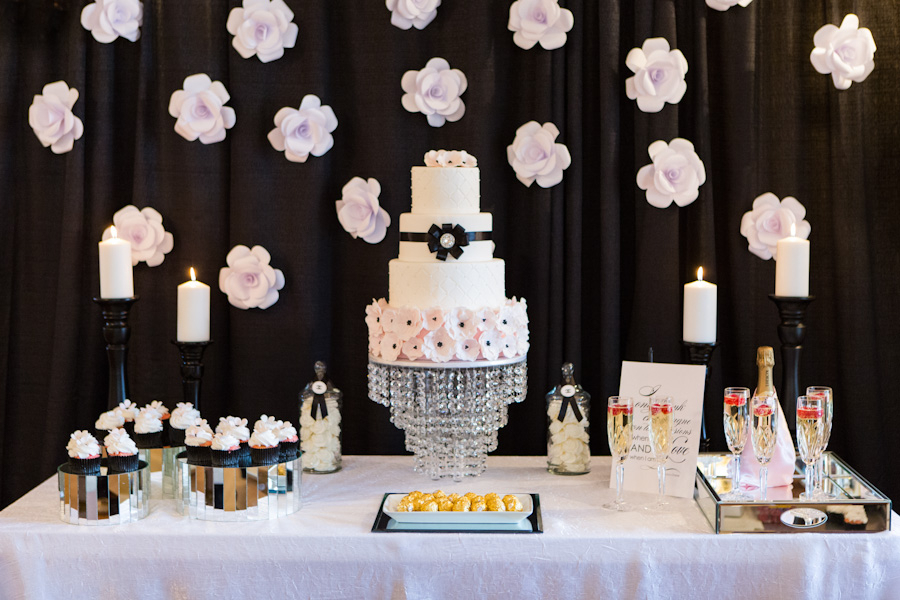Coco Chanel themed black and pink wedding 16 - Love, Coco