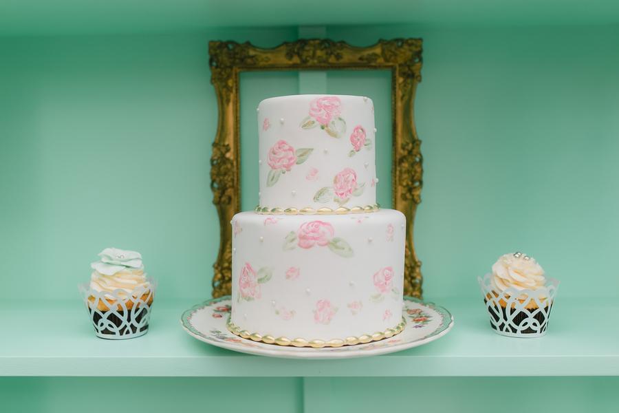 Retro vintage pastel bridal shower wedding tea party 11 - Retro Pastel Dreams