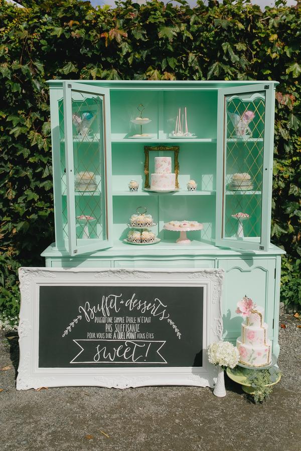 Retro vintage pastel bridal shower wedding tea party 7 - Retro Pastel Dreams