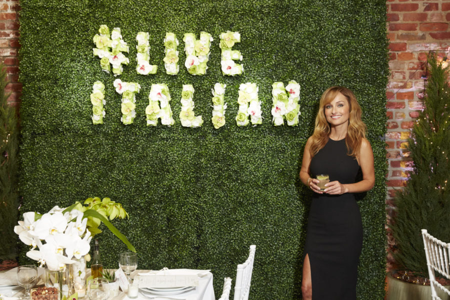 Dinner with Giada De Laurentiis and Francelico 5