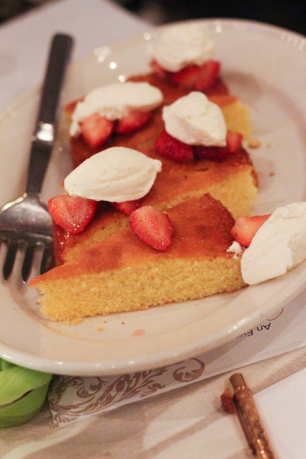 Giada's Almond Cake - Dinner with Giada De Laurentiis and Francelico