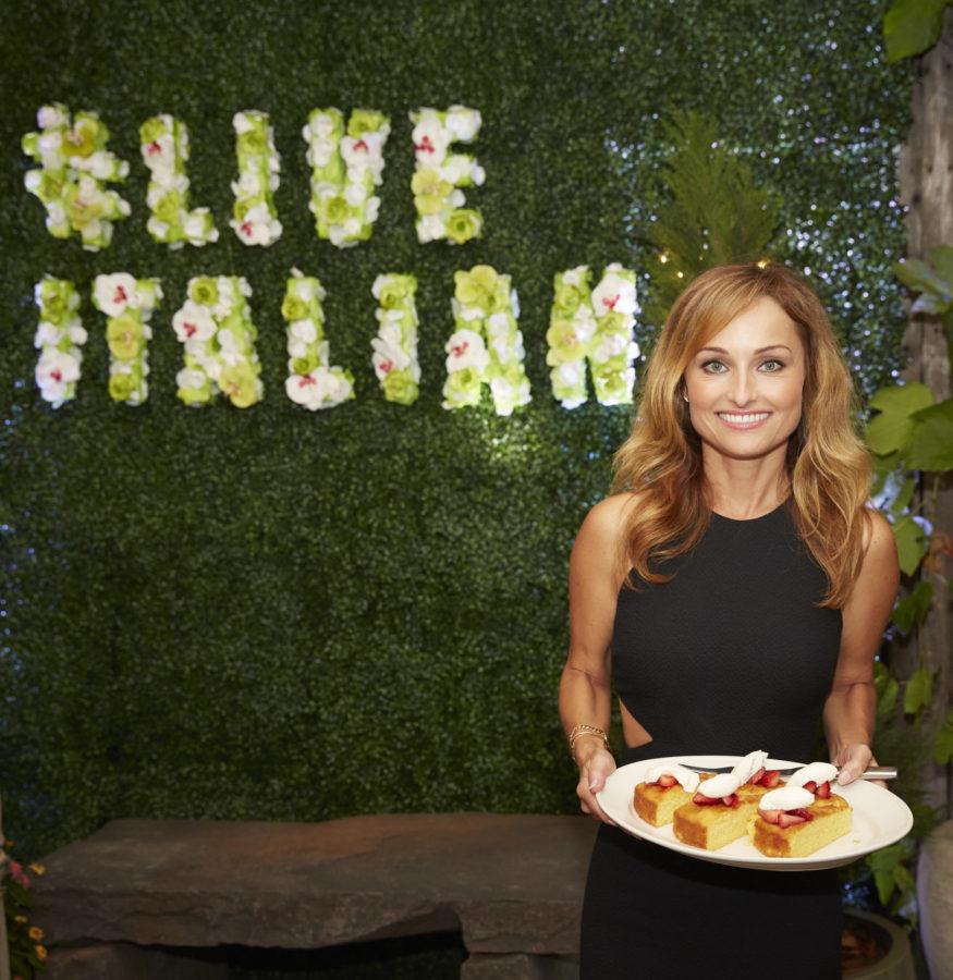 Giadas Almond Cake Dinner with Giada De Laurentiis and Francelico - Dinner with Giada & Frangelico