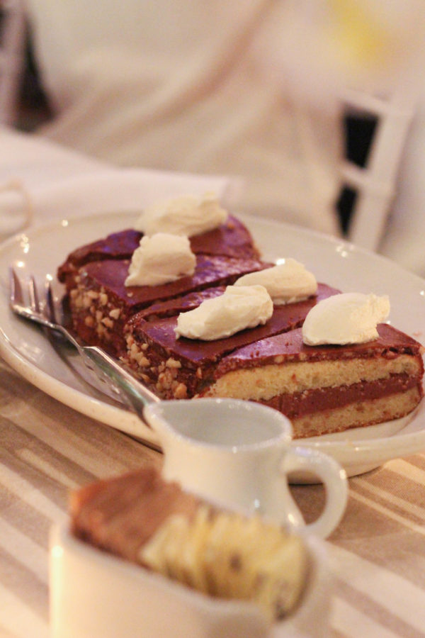 Hazelnut Torte - Dinner with Giada De Laurentiis and Francelico