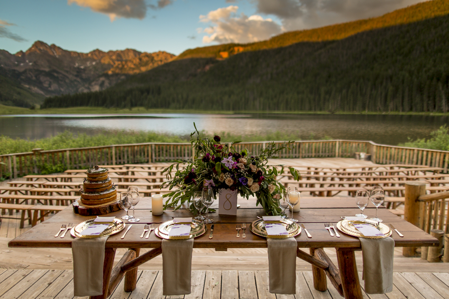Rustic mountain nuptials in Colorado 1