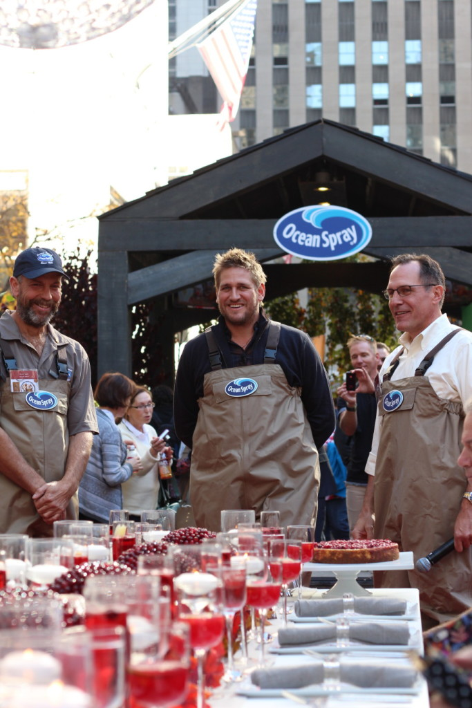Curtis Stone & the Ocean Spray Bog