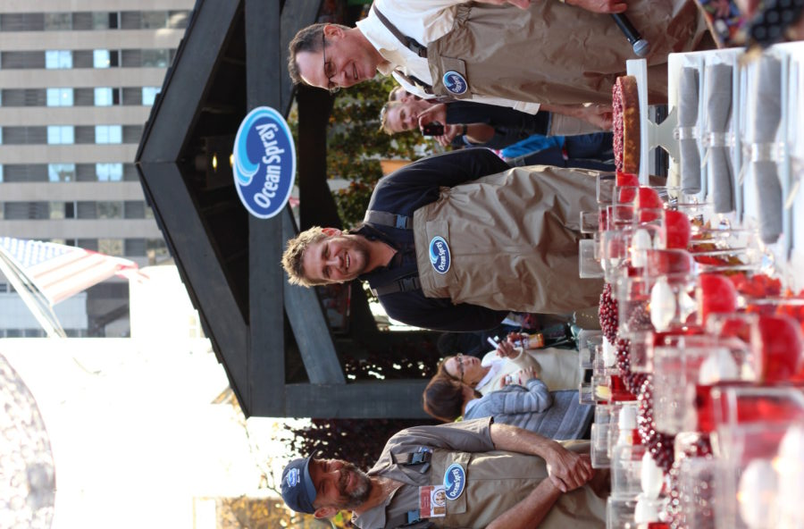 Ocean Spray and Curtis Stone Thanksgiving with The Frosted Petticoat 15 - Curtis Stone & the Ocean Spray Bog