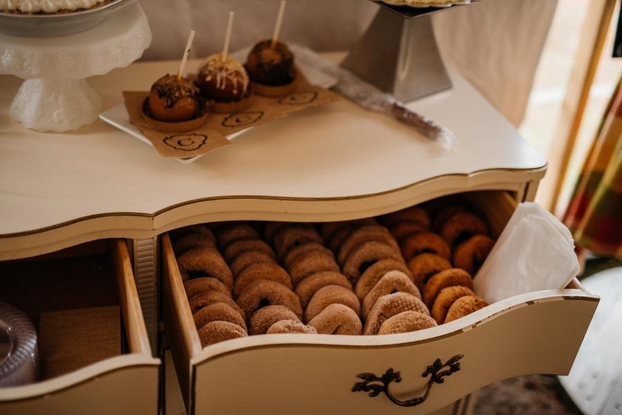 Baked Maple Apple Donuts - Baked Maple Apple Donuts