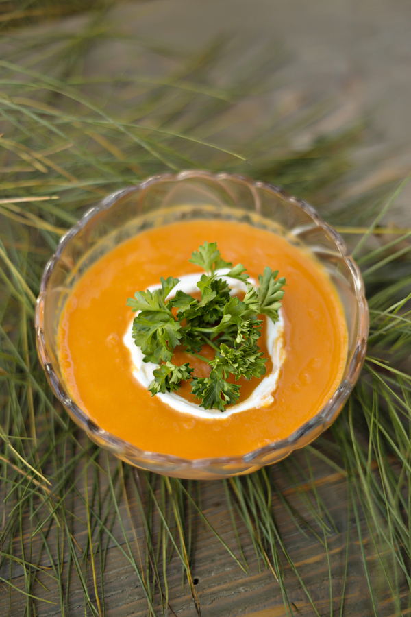 Carrot Curry Ginger Soup