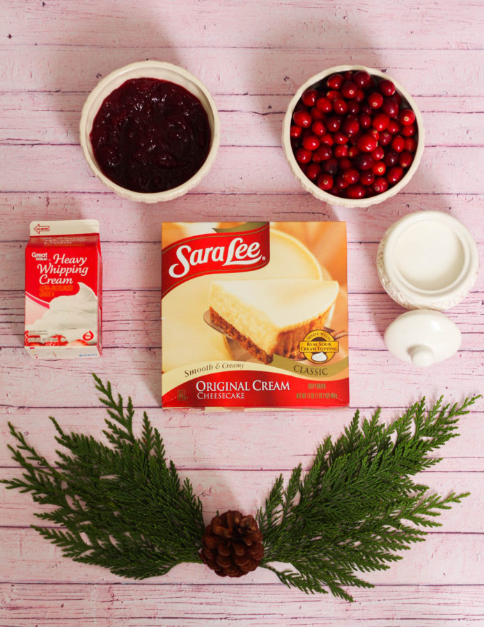 Cranberry Cheescake Shake Recipe Sara Lee The Frosted Petticoat 1 - Sara Lee & The Cranberry Cheesecake Shake