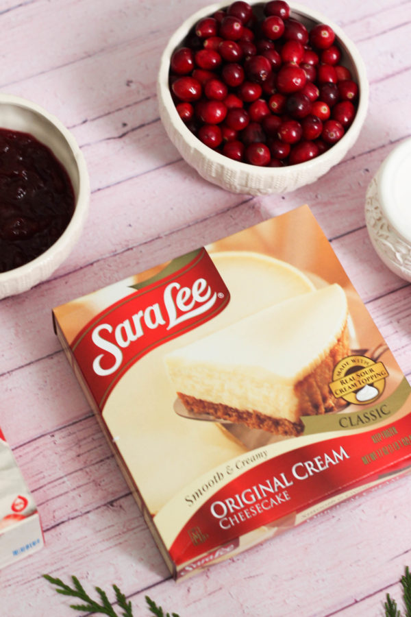 Cranberry Cheescake Shake Recipe Sara Lee The Frosted Petticoat 3 - Sara Lee & The Cranberry Cheesecake Shake