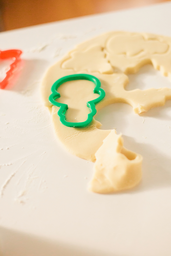 Retro holiday sugar cookie recipe
