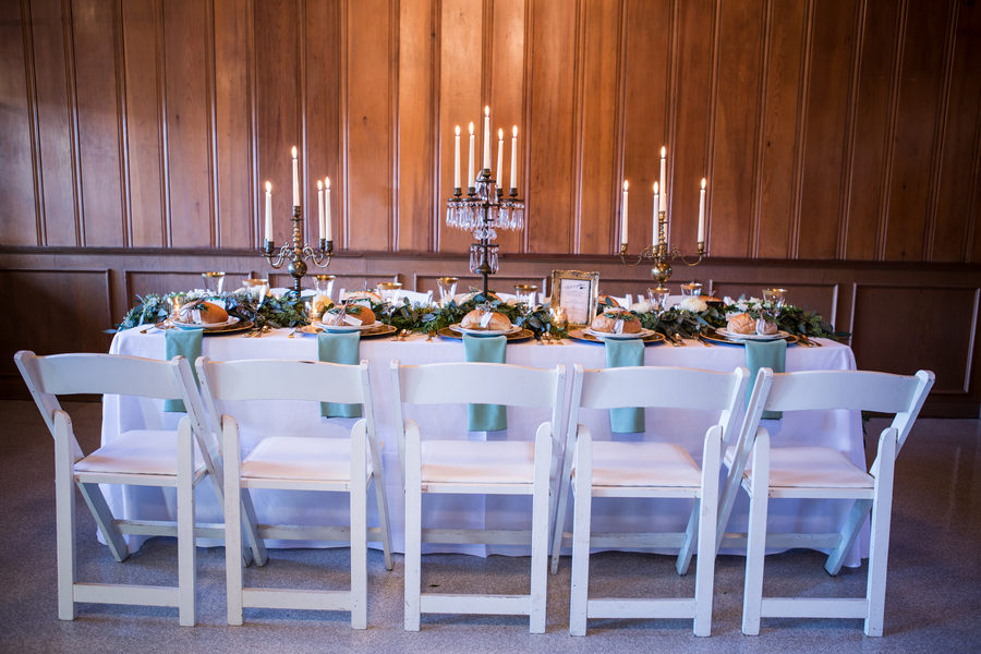 Rustic Green Winter Wedding 16