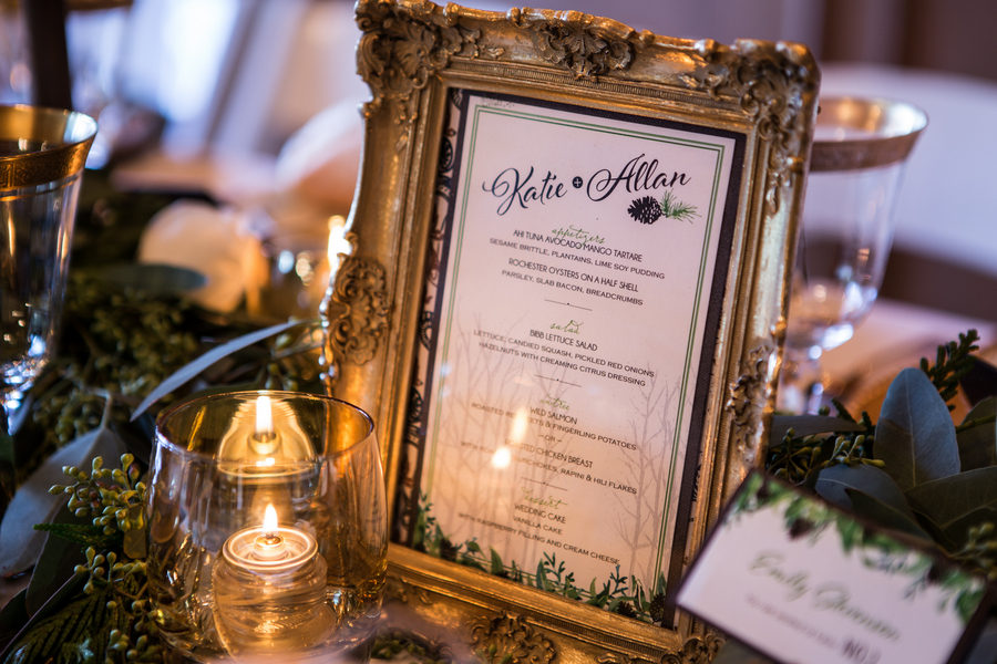 Rustic Green Winter Wedding 19