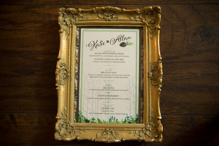 Rustic Green Winter Wedding 23