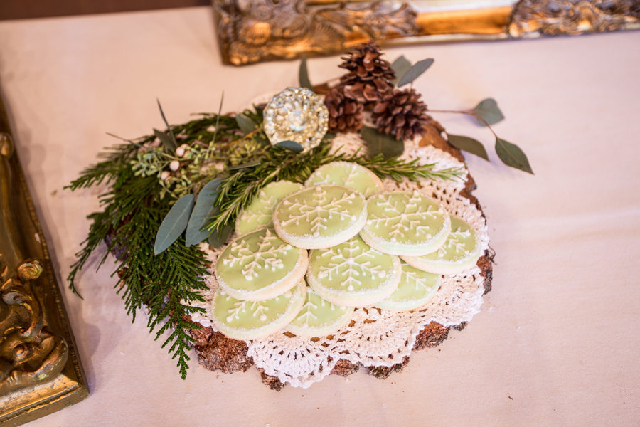 Rustic Green Winter Wedding 9 - Mini French Bread Loaf