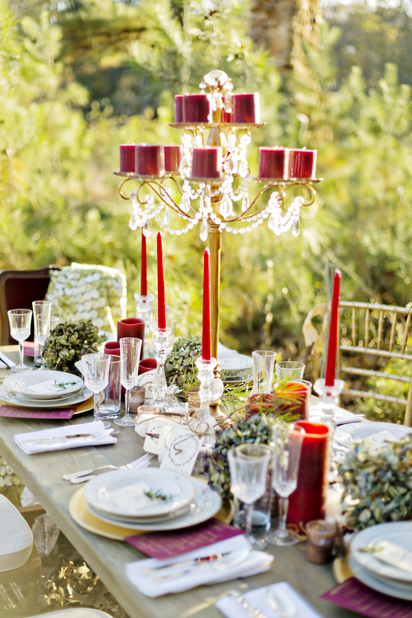 Rustic bohemian winter wedding 13