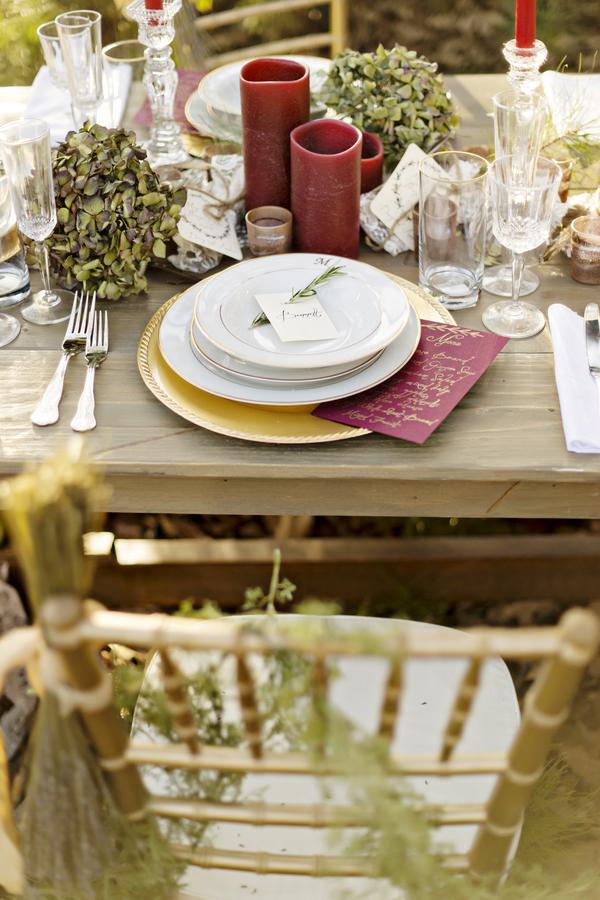 Rustic bohemian winter wedding 14