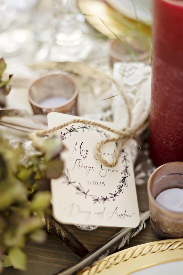 Rustic bohemian winter wedding 17