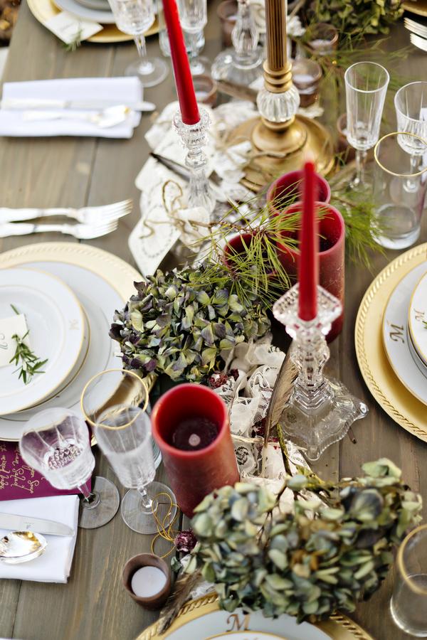 Rustic bohemian winter wedding 19