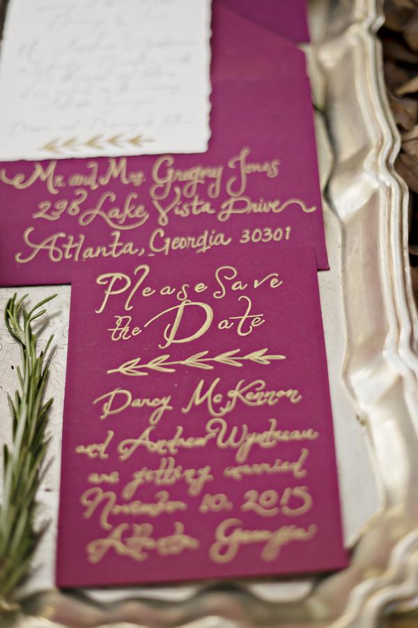 Rustic bohemian winter wedding 2