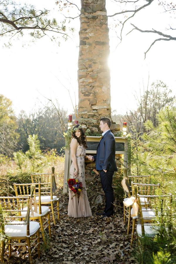 Rustic bohemian winter wedding 8