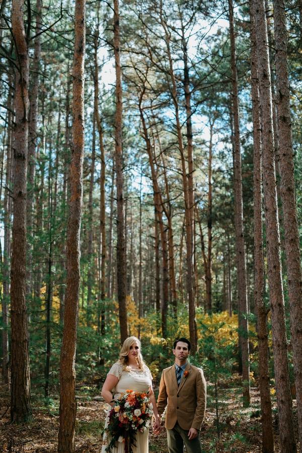 Rustic modern wedding 3