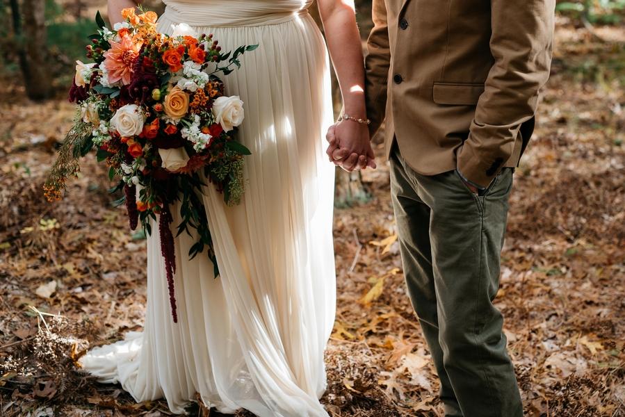 Rustic modern wedding 4