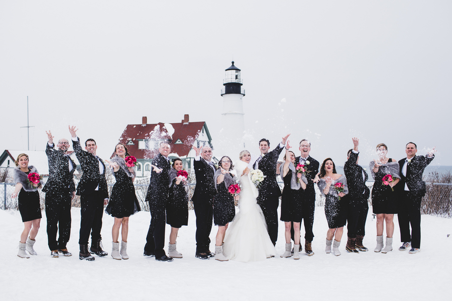 Winter wonderland wedding 3
