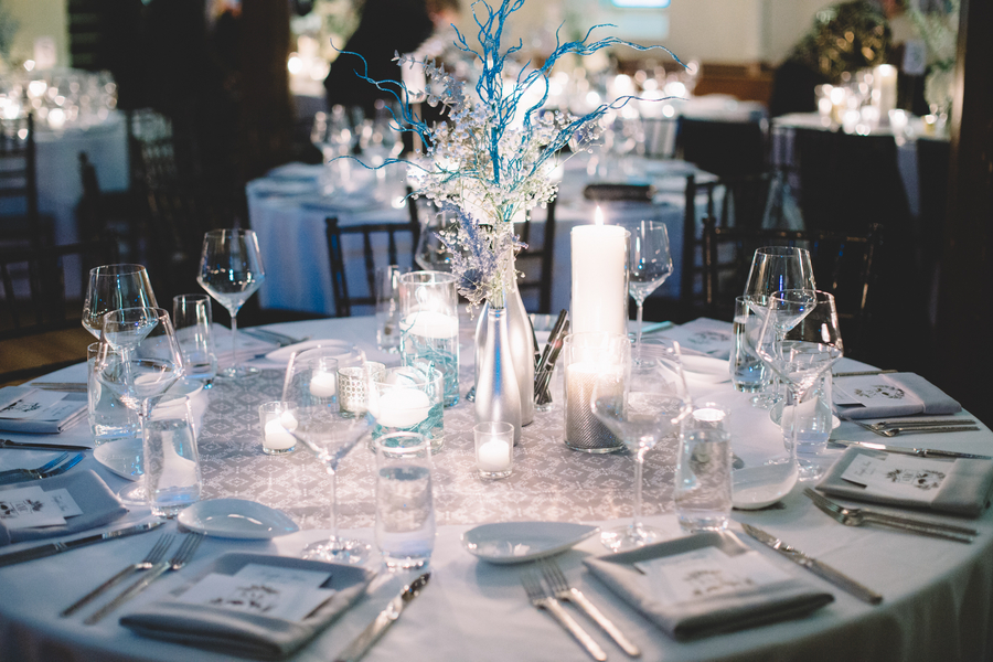 Winter wonderland wedding 9