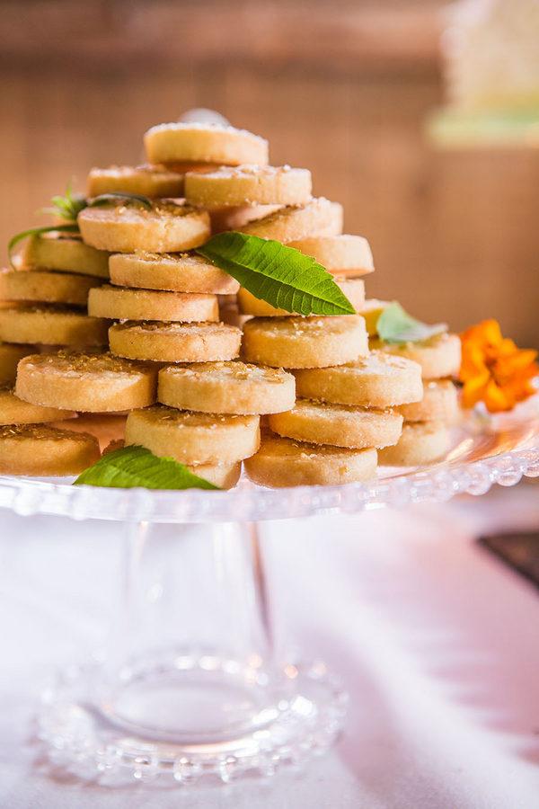 Butterscotch Shortbread Cookies Recipe - Butterscotch Basil Shortbread