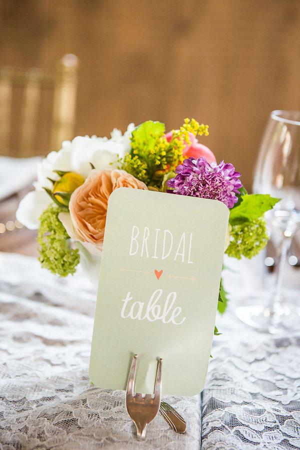 Shabby chic real wedding 13 - Butterscotch Basil Shortbread