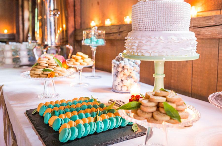 Shabby chic real wedding 16 - Butterscotch Basil Shortbread