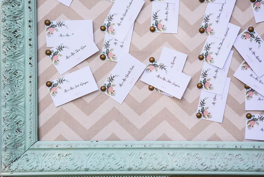 Shabby chic real wedding 2 - Butterscotch Basil Shortbread