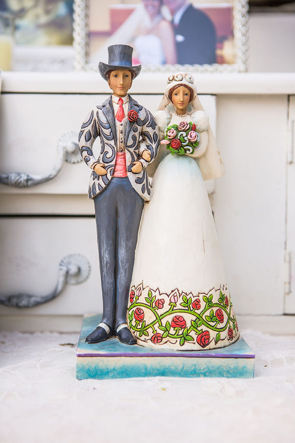 Shabby chic real wedding 4 - Butterscotch Basil Shortbread