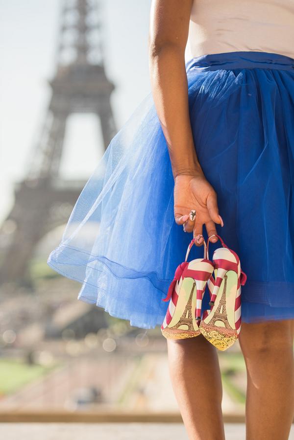 Paris Eiffel Tower Engagement Picnic 1