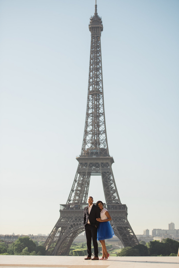 Paris Eiffel Tower Engagement Picnic 5