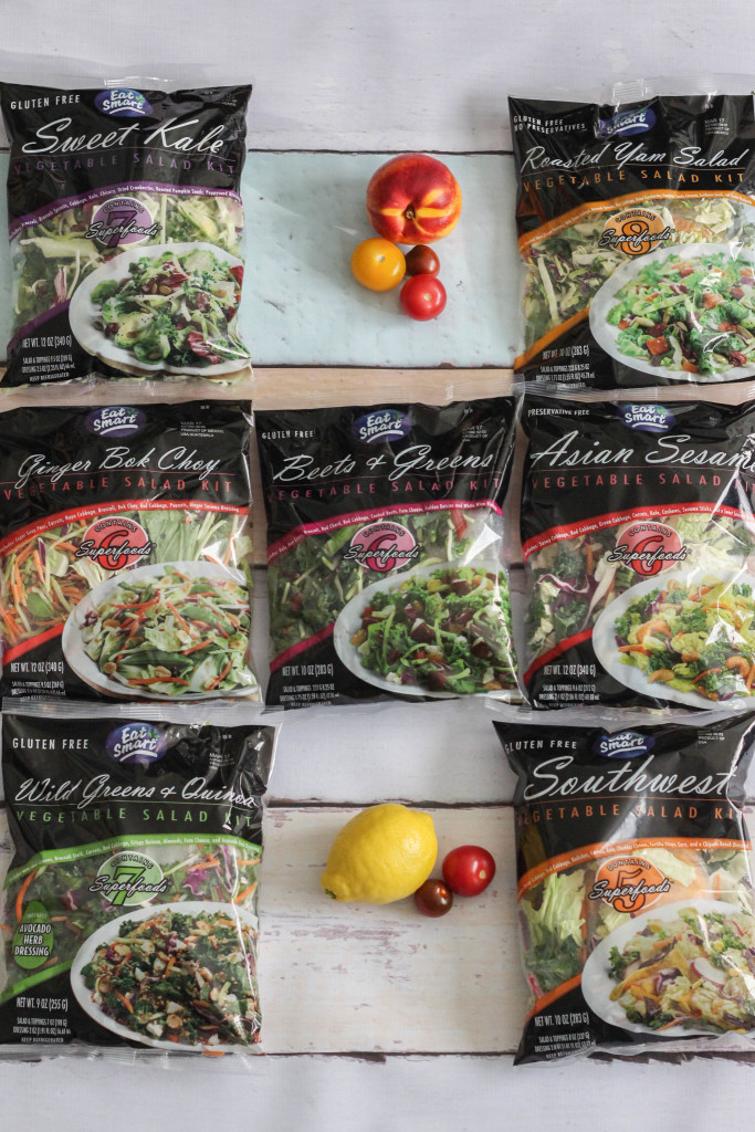 Eat Smart Salads with Springtime Oat Smoothie Recipe - The Frosted Petticoat 1