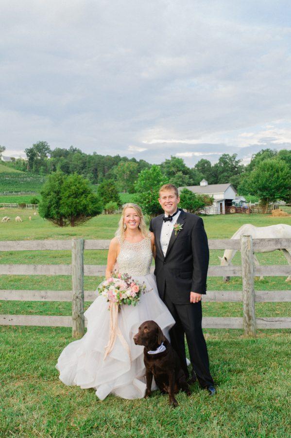 Farmhouse Spring Wedding 11