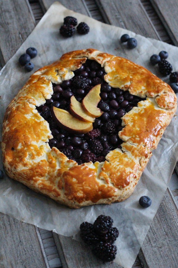 Gluten Free Spring Fruit Galette Recipe with Bob's Red Mill - The Frosted Petticoat 15
