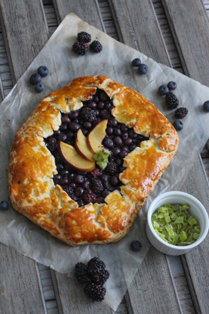 Gluten Free Spring Fruit Galette Recipe with Bob's Red Mill - The Frosted Petticoat 17