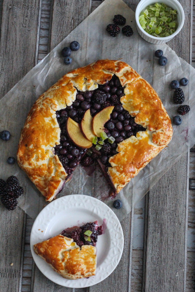 Gluten Free Spring Fruit Galette Recipe with Bob's Red Mill - The Frosted Petticoat 18
