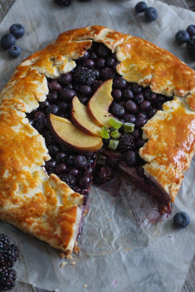 Gluten Free Spring Fruit Galette Recipe with Bob's Red Mill - The Frosted Petticoat 20