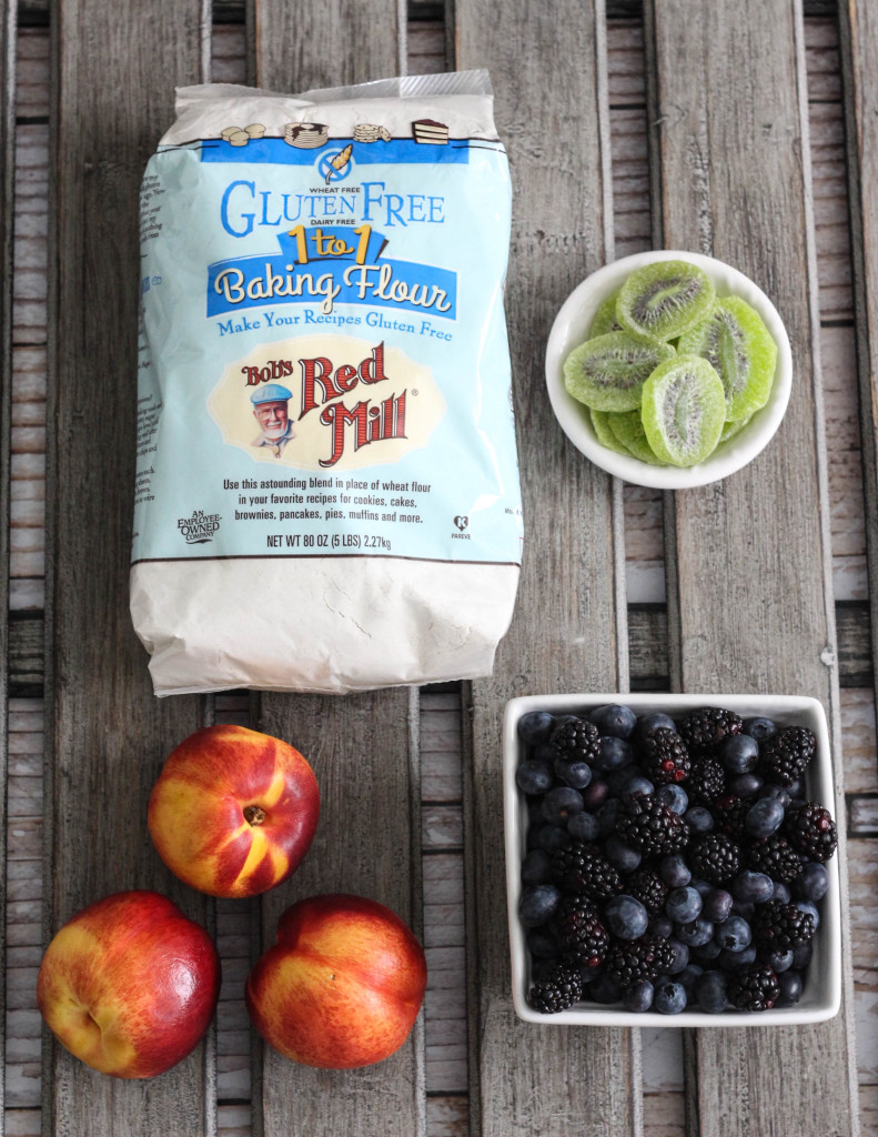 Gluten Free Spring Fruit Galette Recipe with Bob's Red Mill - The Frosted Petticoat 4