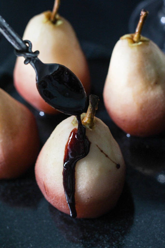 Wine Poached Pears with Gloria Ferrer Carneros Pinot Noir 8