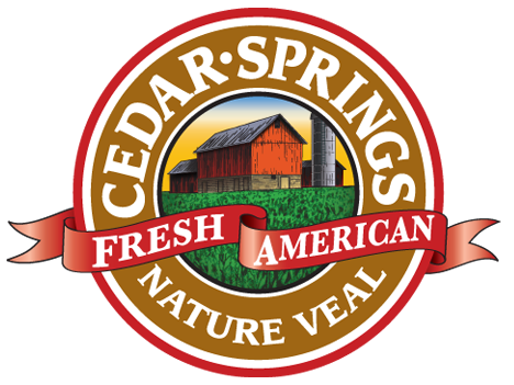 Cedar Springs Veal Logo - Pulled Bourbon Cedar Springs Veal
