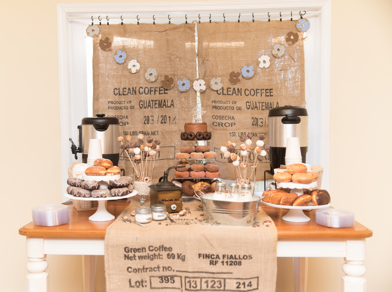 Coffee Amp Donuts Diy Party