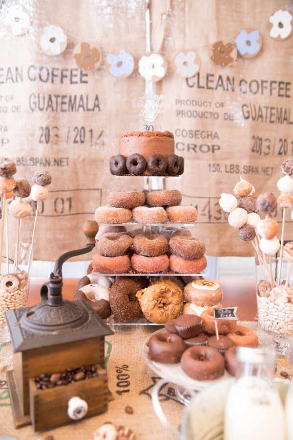 Coffee and Donuts Party Theme - 'How To' Guide