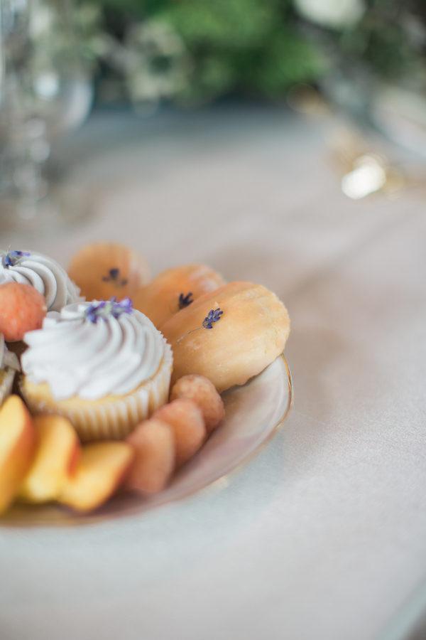 Lavender Madeline Cookies - Lavender Madeleines