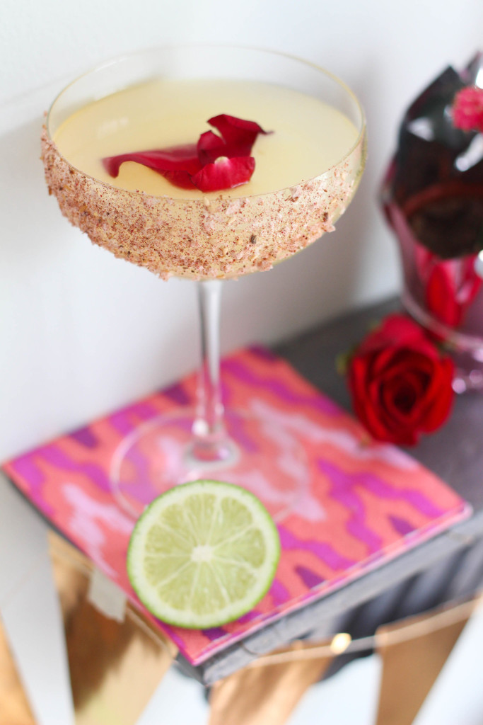 Rosa Picante Margarita - Patrón Margarita of the Year & The Frosted Petticoat
